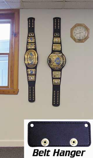 wwe wcw ecw replica belt wall hanger kid size. Black Bedroom Furniture Sets. Home Design Ideas