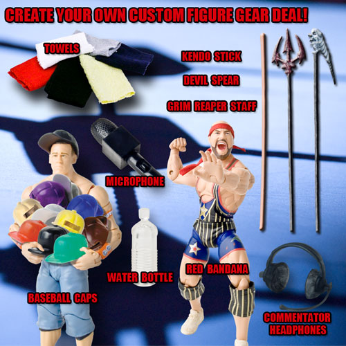 Create Your Own Custom 6 Piece Figure Gear Deal