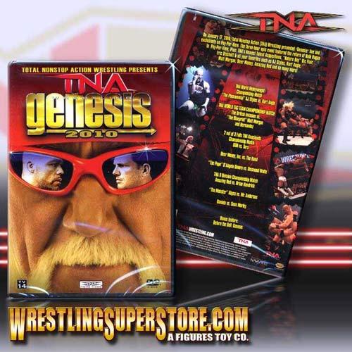 TNA Genesis 2010 DVD