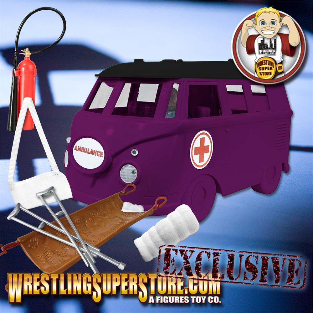ULTIMATE Brown Coffin Casket Playset for WWE Wrestling Action Figures