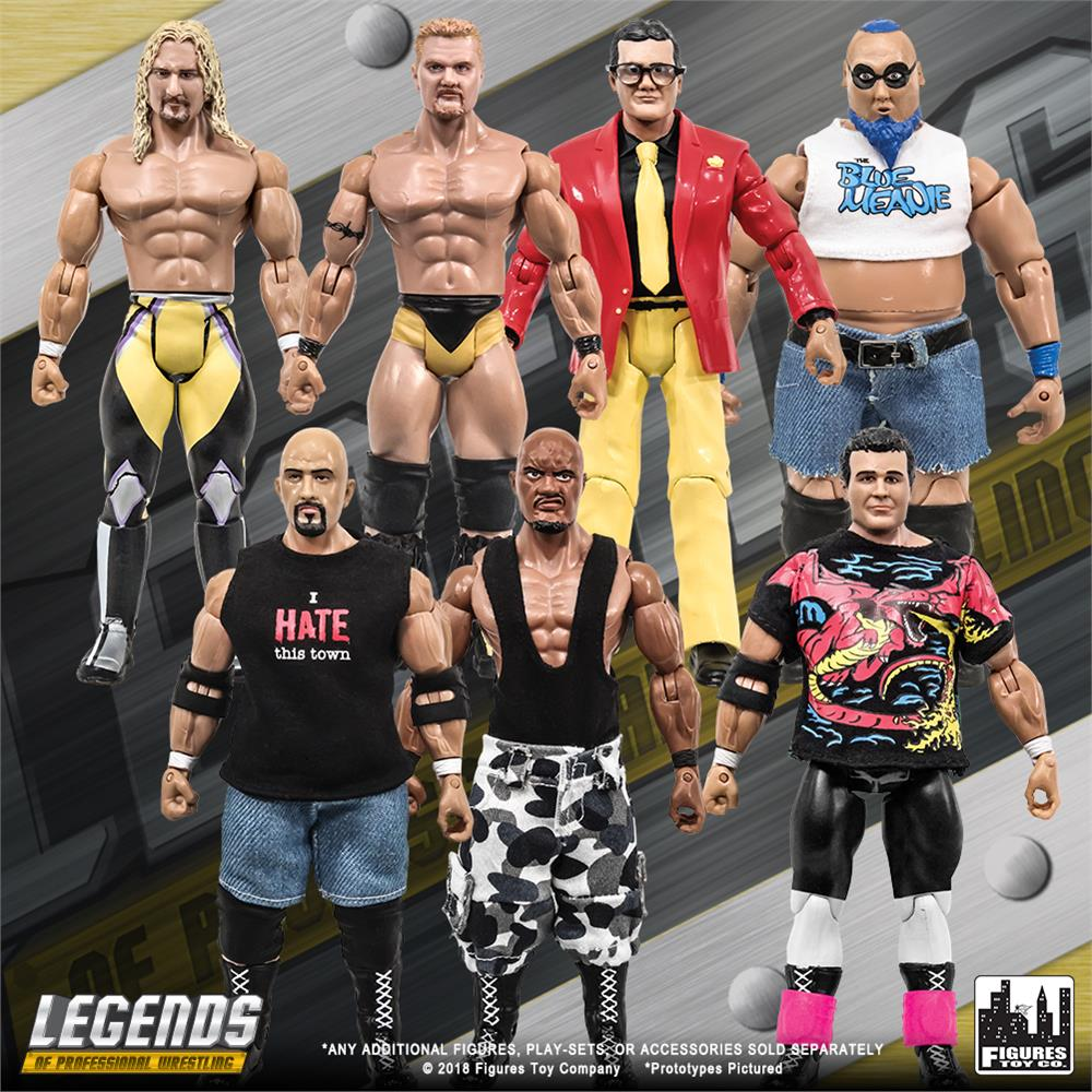 Glow in the Dark Coffin pour WWE Wrestling Action Figures