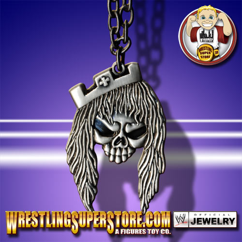 WWE Triple H Skull with Crown Pendant