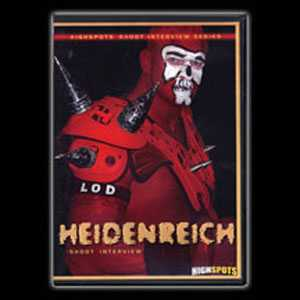 Heidenreich Shoot Interview DVD