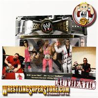 WWE Jakks Classic Superstars Series (Autographed Figures)