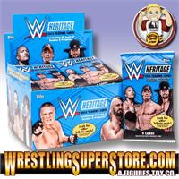 WWE Topps 2015 Heritage Trading Cards